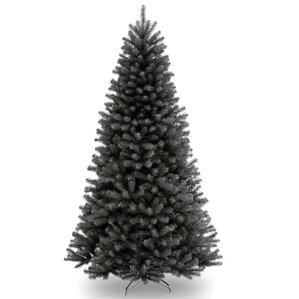 north valley 75 black spruce artificial christmas tree with stand - Black Christmas Tree