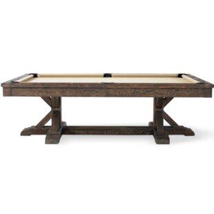 Plank & Hide Thomas 8' Slate Pool Ta..