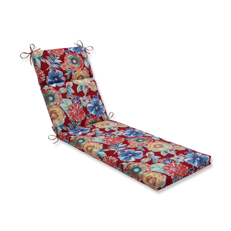 Winston Porter Sisler Indoor Outdoor Chaise Lounge Cushion Wayfair
