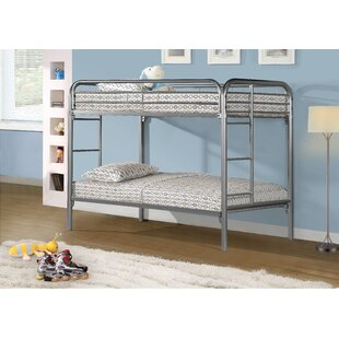 Online Reviews Twin over Twin Bunk Bed by Monarch Specialties Inc. Reviews (2019) & Buyer's Guide