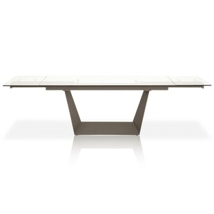 Basil Extendable Dining Table by Orren Ellis Wonderful