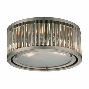 Mercer41 Goff 2-Light Flush Mount