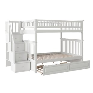 Abel Staircase Full Over Full Standard Bed with Trundle by Harriet Bee