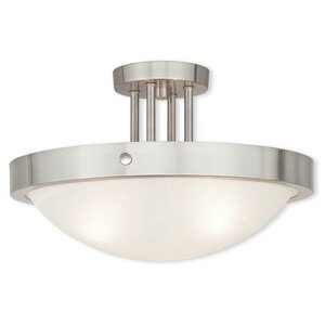 Ann 3-Light Semi Flush Mount