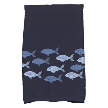 Golden Lakes Hand Towel