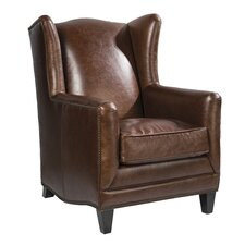 Atwood Wing back Chair by Palatial Furniture