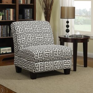 Armless Accent Chairs You ll Love   Wayfair Havertown Slipper Chair. Armless Living Room Chairs. Home Design Ideas
