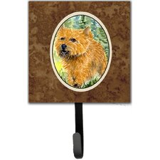 Norwich Terrier Leash Holder and Wall Hook by Caroline's Treasures
