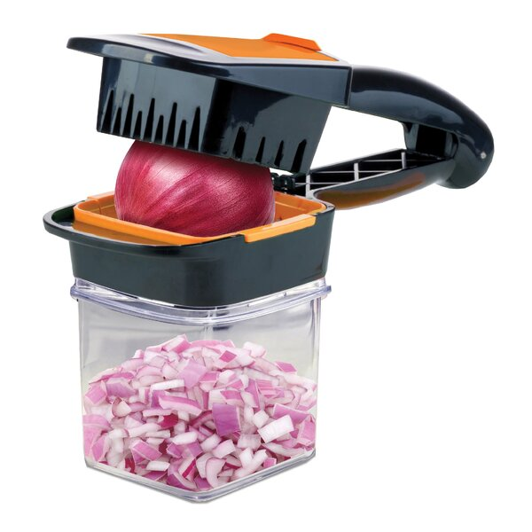 Prong Onion /& Veg Slicer w//Slip Resistant Handle Set//2 Protective Cover