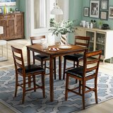 Feodora 5 - Piece Counter Height Dining Set by Red Barrel Studio®