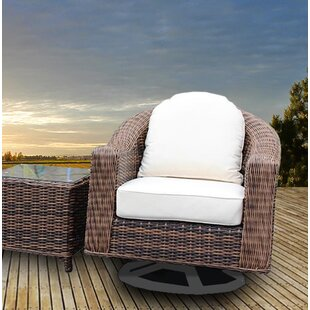 Bayou Breeze Gallatin Patio Chair with Cushion (Set of 2)