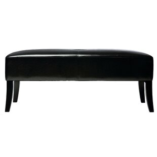 Jasper Faux Leather Bench by Cortesi Home