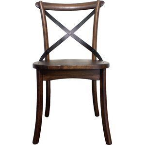 Pierrepont Solid Wood Dining Chair (Set of 2) by Loon Peak