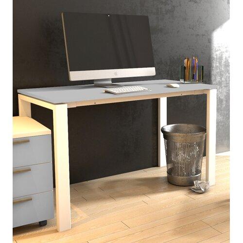 Computertisch Favela ClearAmbient Farbe (Gestell/Tischfläche): Grau und Weiß  Größe: 75 cm H x 120 cm B x 60 cm T   Büro > Bürotische > Computertische   ClearAmbient