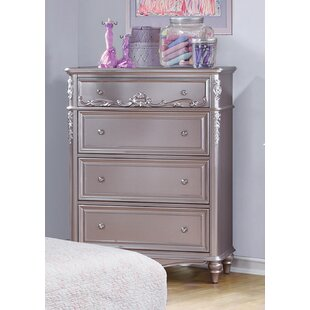 Skillings 4 Drawer Chest by Harriet Bee