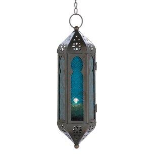 Cobalt Cathedral Hanging Lantern