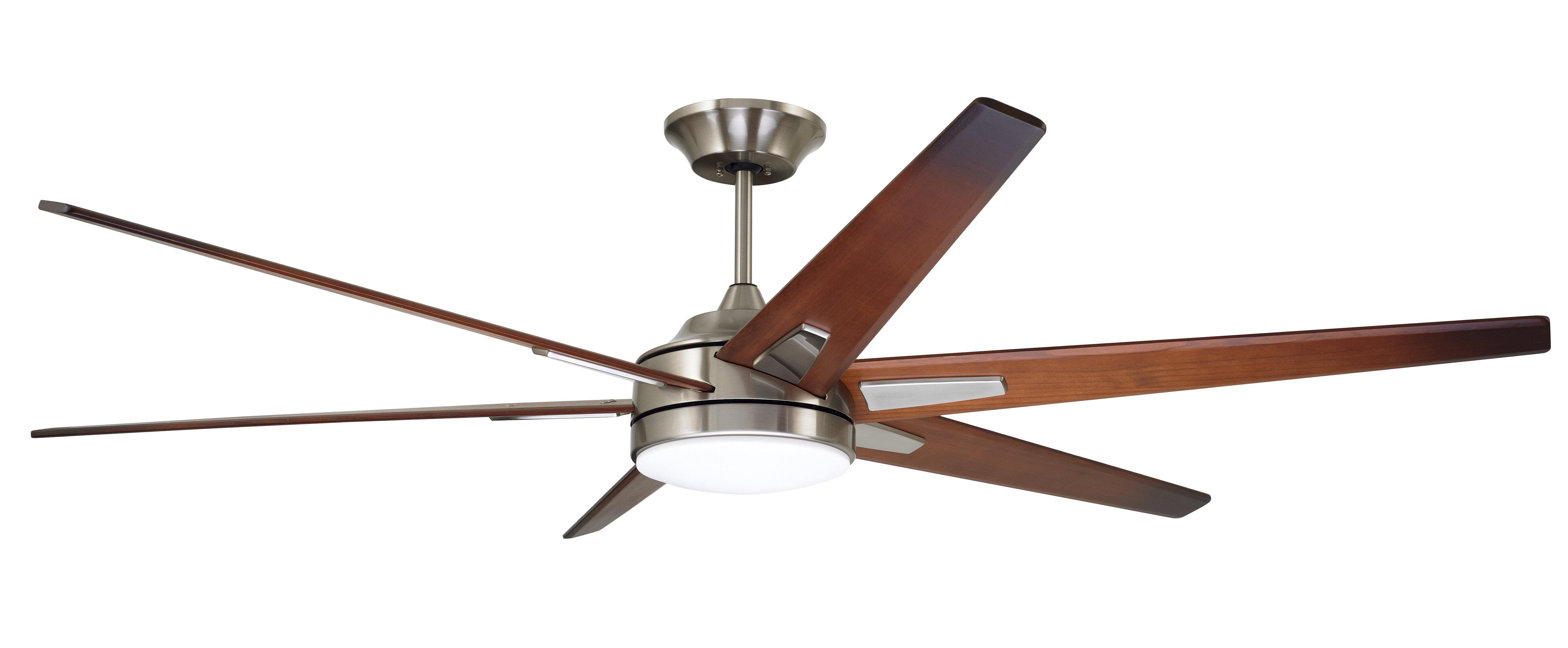 72 ceiling fan with light galvanized steel latitude run 72