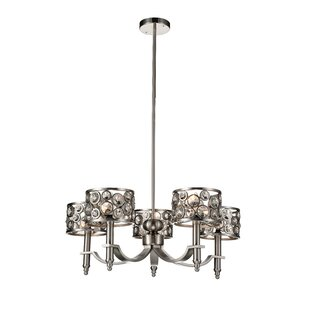 CWI Lighting Wallula 5-Light Shaded Chandelier