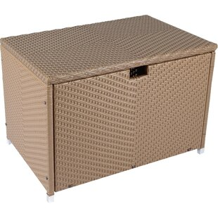 Stonewick Resin Deck Box by Tortuga Outdoor