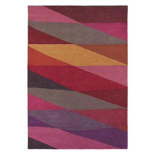 Estella Hand-Tufted Red/Pink Area Rug by Brink & Campman