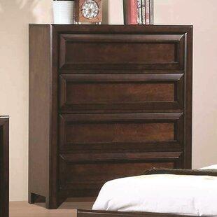 Red Barrel Studio Alsey 4 Drawer Dresser