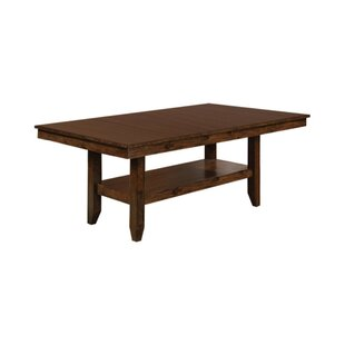 Kratochvil Solid Wood Dining Table Alcott Hill