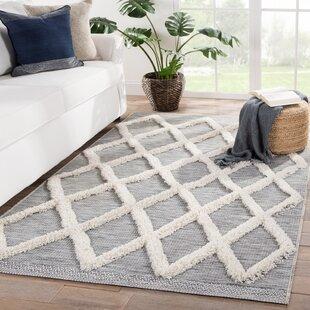 Veun Trellis Gray/Beige Indoor/Outdoor Area Rug