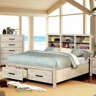 Mathias Storage Platform Bed