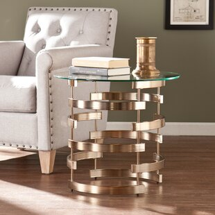 Bargain Trimm End Table By Orren Ellis
