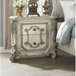Dearborn 2 Drawer Nightstand by Rosdorf Park