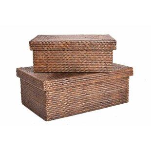 Read Reviews Rattan Box Byartifacts trading