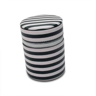 Affordable Anna Striped Round Jewelry Box By Morelle Company