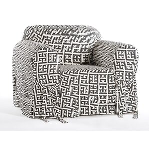 Angel Box Cushion Armchair Slipcover by Classic Slipcovers