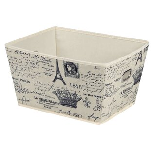 Guide to buy Paris Non-Woven Storage Fabric Bin By Home Basics