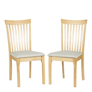 Dostie Solid Wood Dining Chair (Set Of 2) By Natur Pur