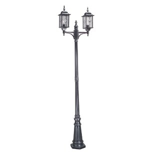 Verrett 2 Light 228.5cm Post Lantern Set By Marlow Home Co.