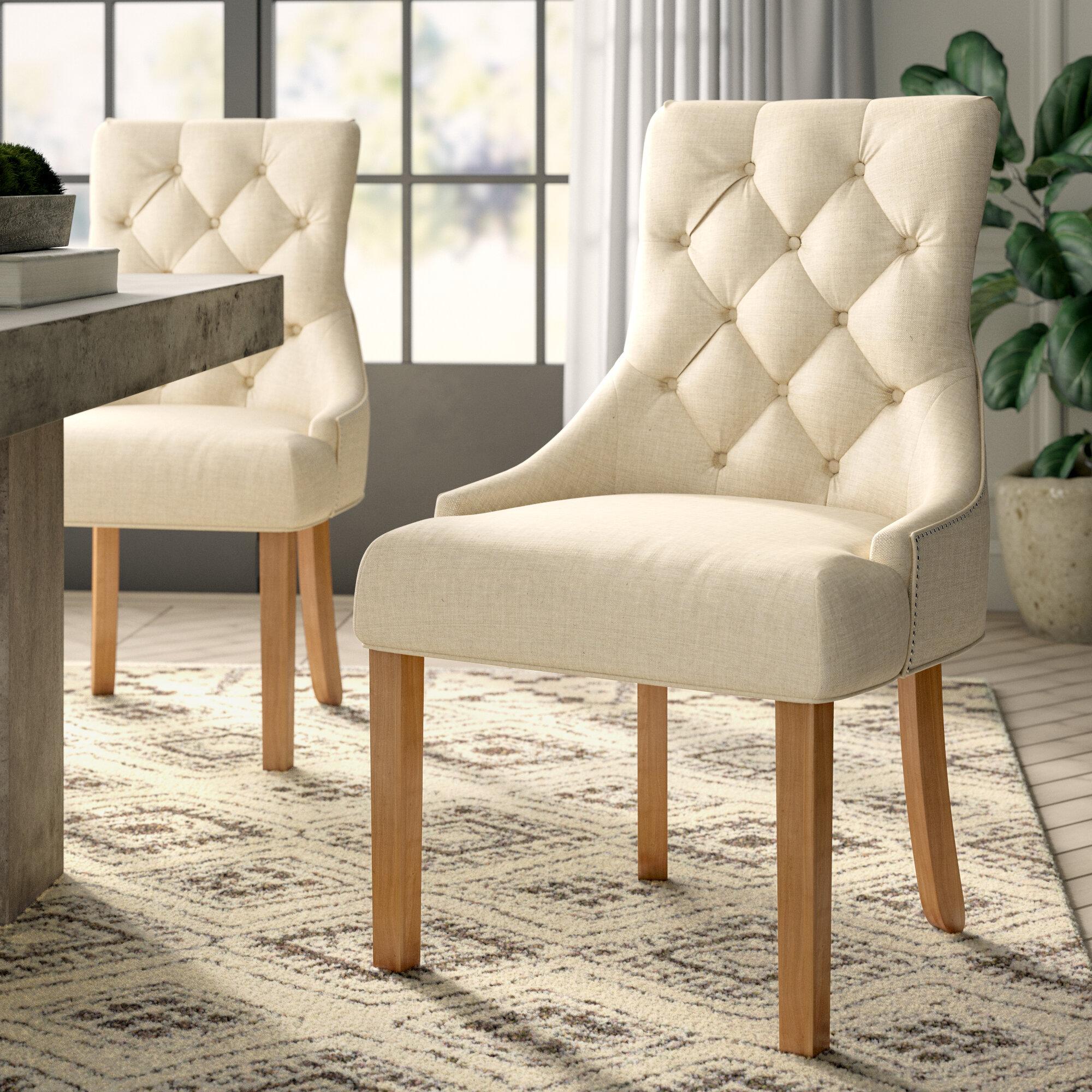Greyleigh margie upholstered side chair reviews wayfair