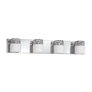 Price comparison Vellase 4-Light Bath Bar By Kendal Lighting