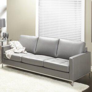 244 Series Regency Leather Sofa by Lind Furn..