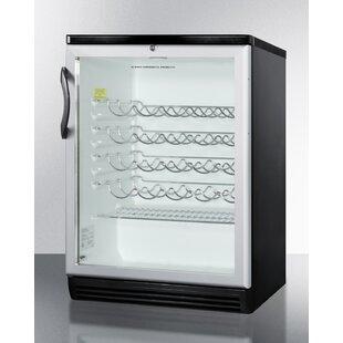 Summit Commercial 36 Bottle Single Zone Built-In Wine Cooler by Summit Appliance