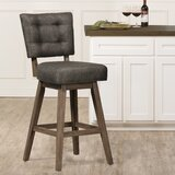 Brennen Bar & Counter Swivel Stool by Laurel Foundry Modern Farmhouse