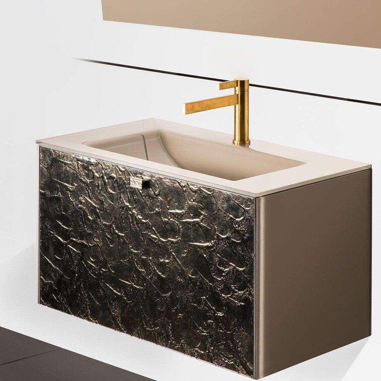Maestrobath Felvy Luxury Murano Glass Drop In Single Bathroom Vanity Perigold