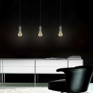 Evisage VI 1-Light Bulb Pendant by Jesco Lighting