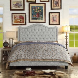 turin upholstered panel bed