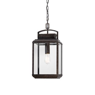 Affordable Price Winborne 1-Light Outdoor Hanging Lantern By Three Posts