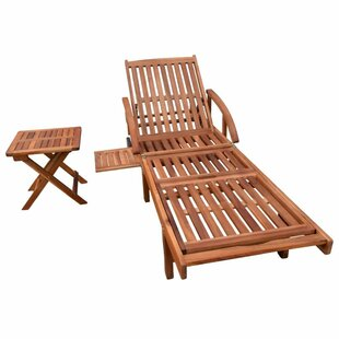 Charlot Sun Lounger With Table Image