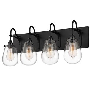 Affordable Kiley 4-Light Vanity Light By Williston Forge