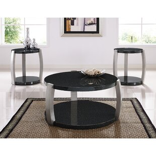 Top Reviews Numan 3 Piece Coffee Table Set ByBrayden Studio