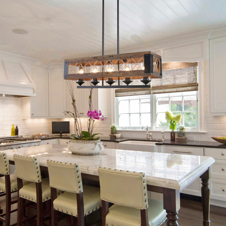 Lnchome 5 light kitchen island pendant wayfair