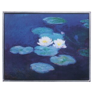 The Water Lilies 1889 Art Glass Wall Décor